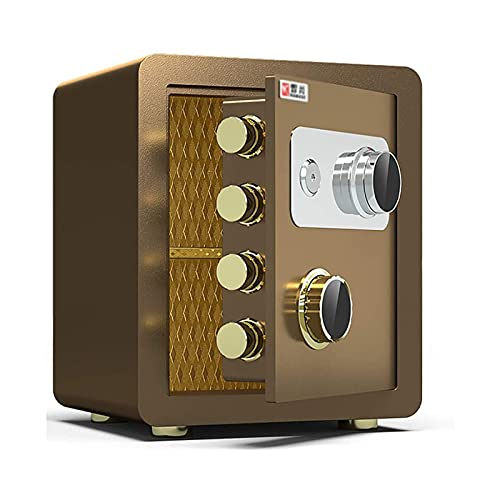 Massage-AED Caja Fuerte Pequeña Portatil, Mini Gabinete De Seguridad para Oficina, Caja Fuerte Antirrobo De Acero para El Hogar De 40 Cm a Prueba De Agua a Prueba De Fuego