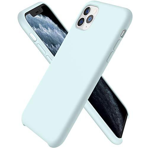 ORNARTO Funda Silicone Case para iPhone 11 Pro MAX, Carcasa de Silicona Líquida Suave Antichoque...