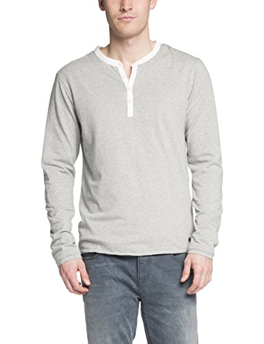 Scotch & Soda 14040750010 T-Shirt, Gris (Grey Melange 970), Small (Taille Fabricant: S) Homme