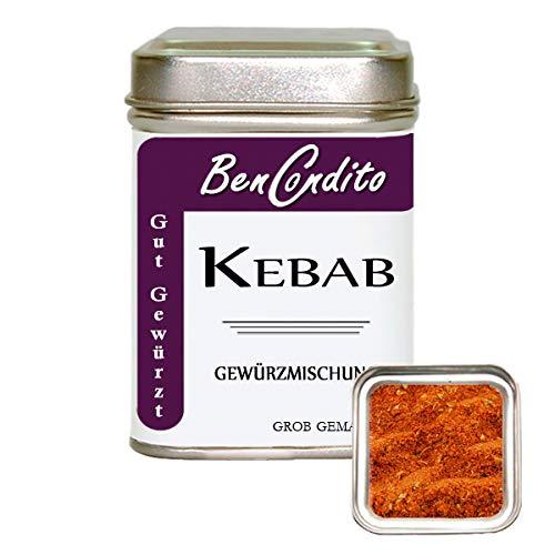 Kebab oder Döner Gewürz - Türkische Gewürzmischung | Fa. BenCondito | 80 Gramm in der Gewürzdose