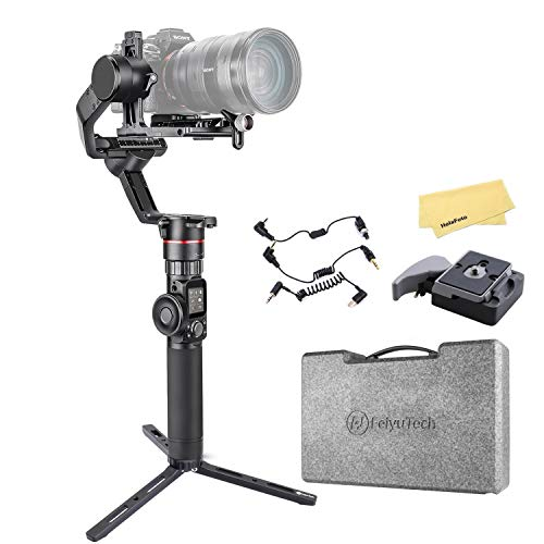 Feiyu AK2000 3 Axis Gimbal Stabilizer for Sony a9 a7 ii a6500 Series Canon 5D...