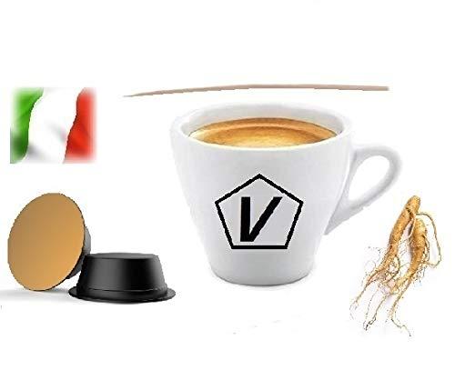 Capsule Compatibili Lavazza A Modo Mio, Capsule Caffè Shop Miscela 'Ginseng' Linea Espresso (20 Capsule)