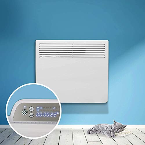 Devola Eco Electric Panel Heater 24 Hour 7Day Digital Timer With Thermostat