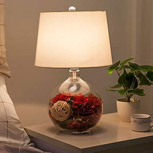 Lámparas de mesa dormitorio lámpara de noche jardín cálido boda romántica boda moderna D, F