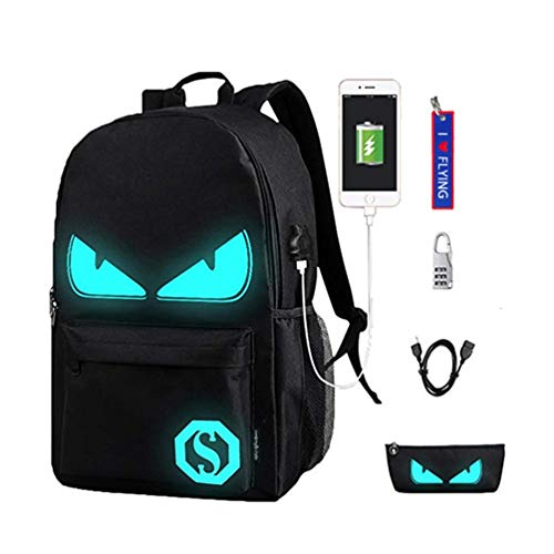 WYCY Anime Cartoon Luminous Backpack Mochila Moda