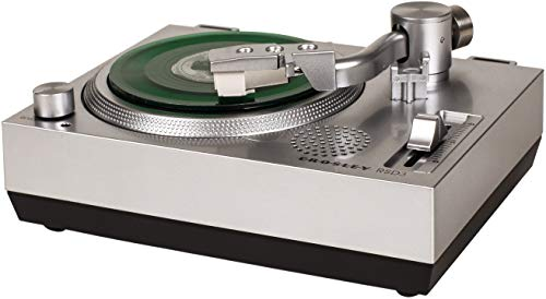 Crosley RSD3 Mini-Plattenspieler für 7,6 cm Vinyl-Schallplatten, silberfarben
