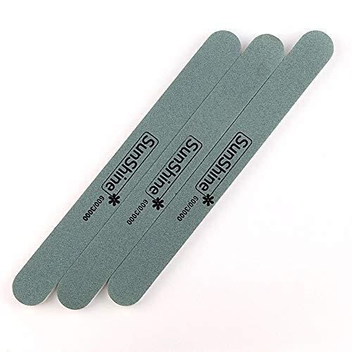 Beauty Tools Nagelfeile, doppelseitig, für Schmuck, Pediküre, Schleifen, Nagelpflege, 600/3000