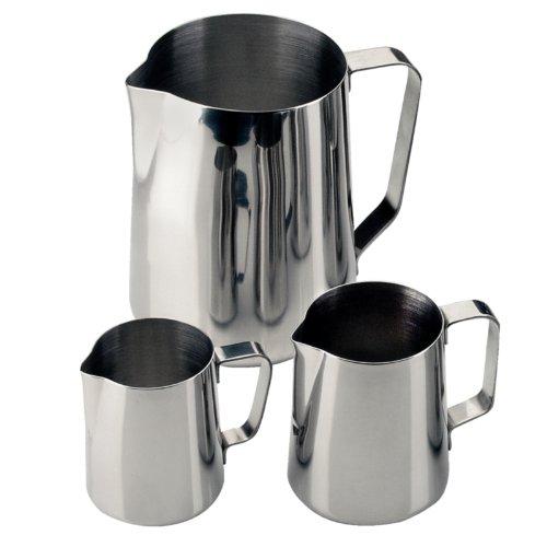 Lait ou Carafe à eau 175 x 115 mm en acier inoxydable Mug Tasse Pot à lait Pichet