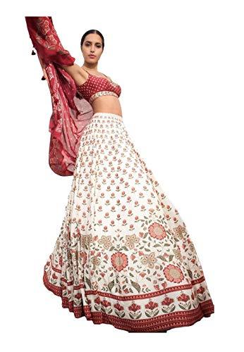 Lehenga Choli 1001, indische Designerin, traditionell, exklusiv, 3 Stück