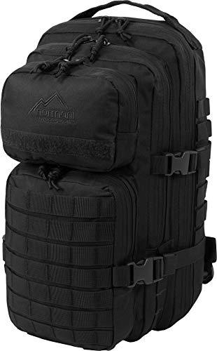 normani US Assault Pack Small, Rucksack, 25 Liter Farbe Schwarz