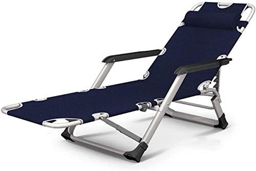 Gartenstühle, Liegestuhl, Liegestuhl, zusammenklappbar, Zero Gravity Liegestühle – Übergröße verstellbar für Outdoor-Hof, Deck, unterstützt 180 kg, Sonnenliege