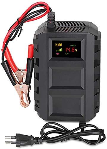 Cargador de Batería de Coche 12v 20A Automático Inteligente con Pantalla LCD para Batería de Automóviles Motocicletas ATVs RVs Barco