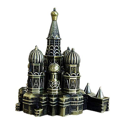 YUQZYT Escultura Abstractaresina Estatuasprincess Palace Retro Building Adornos En Miniatura Inicio