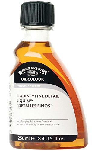 Winsor & Newton 3039752 Liquin Fine Detail Medium - Colore ad olio, ideale per dettagli fini, trasparente, 250 ml, 1 pz.