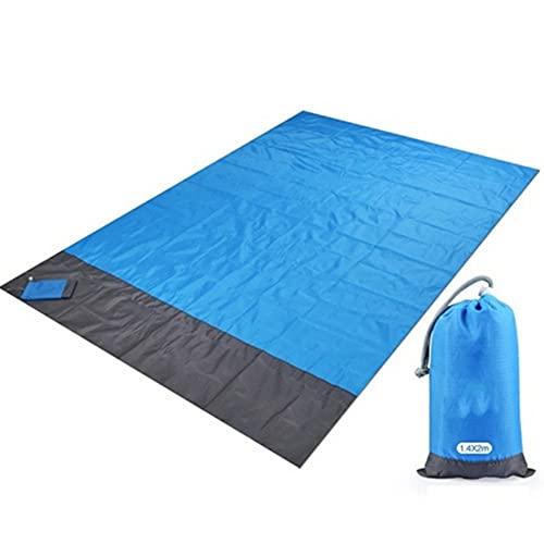 XVBN 2x2.1m Pocket Beach Blank Pieghevole Pieghevole Campeggio Materasso Materasso Picnic per Picnic all'aperto Leggero