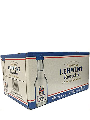 Lehment Rostocker Doppelkümmel 24 x 0,02 Liter