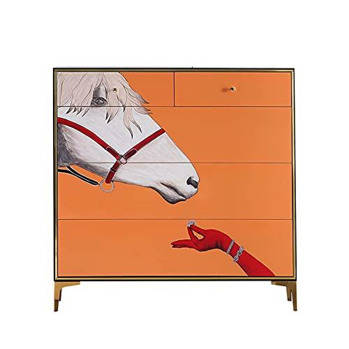 Gabinete De Zapatos De Cubo Basculante Pintado De Lujo Ligero, Gabinete De Entrada del Hogar, Gabinete De Cubo De Pasillo De Sala De Estar, Zapatero Almacenamiento Doméstico