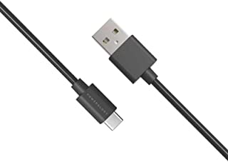 كابل USB نوع ايه الى USB نوع سي 3 امبير من باورولوجي من خامة بلاستيك بي في سي