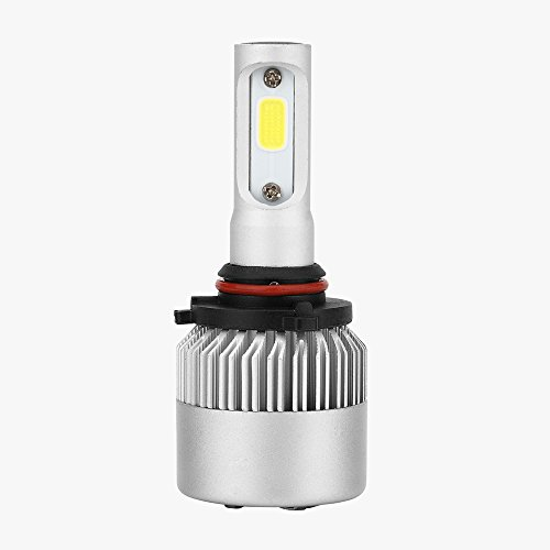Boomboost 9006 HB4 Phare Avant Automobile 72W 8000LM Ampoules à Phare à LED Kit de Conversion pour Voiture halogène HID Xenon S2-9006