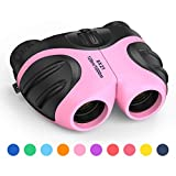 3-12 Year Old Girls Toys, DMbaby Compact Shock Proof Outdoor Travel Binocular
