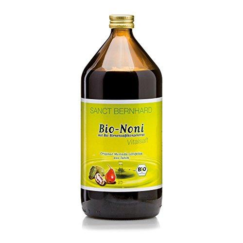 Sanct Bernhard Säfte Bio-Noni-Vital-Saft mit Bio-Birnensaftkonzentrat 1 Liter