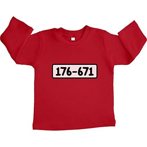 Shirtgeil pantserknacker bandieten bande kostuum carnaval unisex baby shirt met lange mouwen