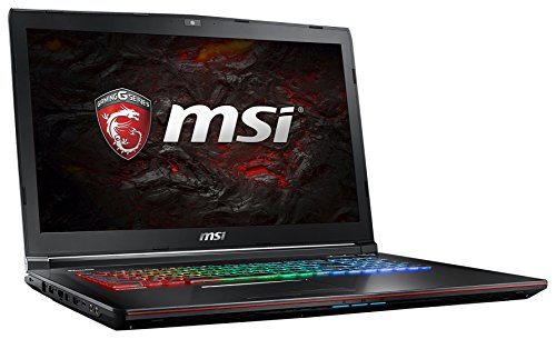 MSI Gaming GE72VR 7RF(Apache Pro)-270DE 2.8GHz i7-7700HQ 17.3' 1920 x 1080Pixel Nero Computer portatile