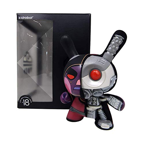 """Kidrobot x Dirty Robot Void Mecha Half Ray Dunny Destroy, 5"""" Collectible Figure (One Size, Multicolored)"""