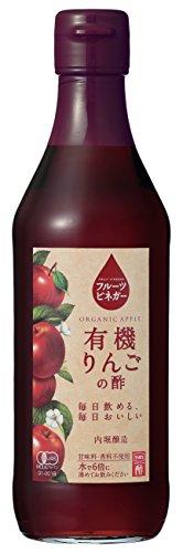 内堀醸造 フルーツビネガー有機りんごの酢 360ml