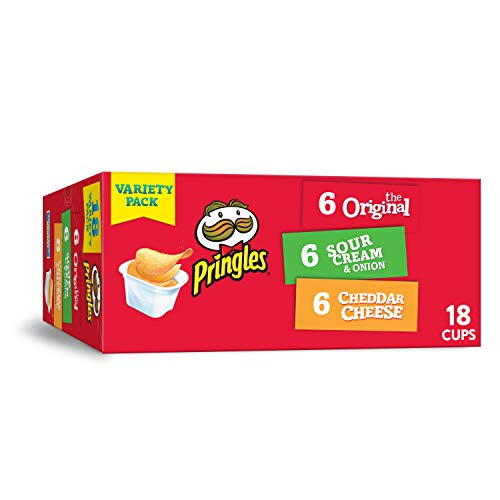 18-count Pringles 3-Flavor Snack Stacks  $4.49 at Amazon