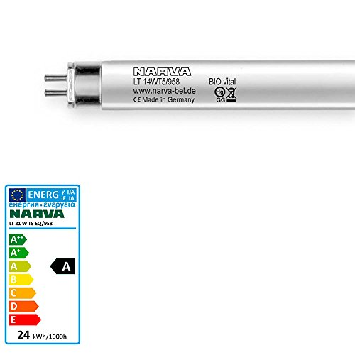 Leuchtstofflampe LT-T5 21 Watt 958 G5 BIO Vital - Narva