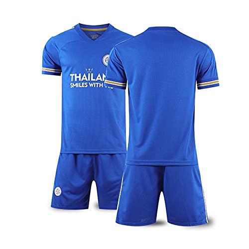Backboards 2020-2021 Season Shirt,Leicester City Retro Maglie da Calcio,Unisex Bambino Adulto Allenamento Jersey,Classiche Personalizzate Pantaloncini,No Number,XXL