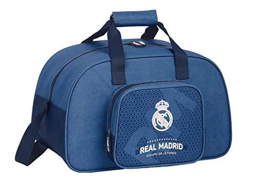 Safta 712124273 Borsone Sportivo, Borsone da Viaggio Real Madrid CF