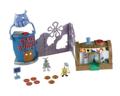 Fisher-Price Nickelodeon Imaginext Krusty Krab Playset
