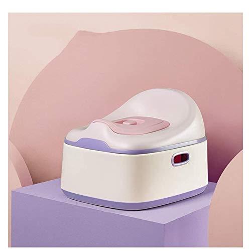 AITAOZI Potty Silla para niños Chicas, niños, Inodoro de Entrenamiento antiapasado con Tapa y contenedor extraíble, fácil de Limpiar (Color : A)