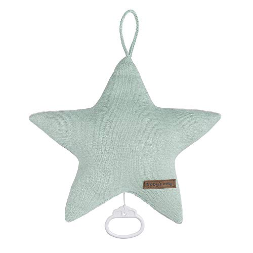 BO Baby's Only - Spieluhr Stern Sparkle - Gold-Mint Melee - 43% Baumwolle/43% Polyacryl/5% Nylon/9% Polyester