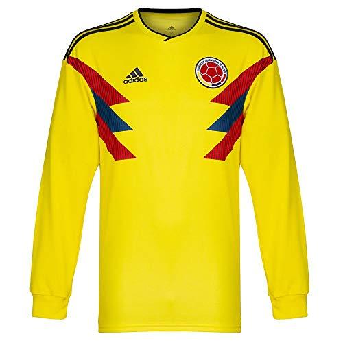 Kolumbien Home L/S Trikot 2018 2019 - L