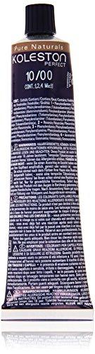 Koleston Coloration capillaire 60 ml, 10/00 - Pure Naturals - Blond clair, lumineux et naturel
