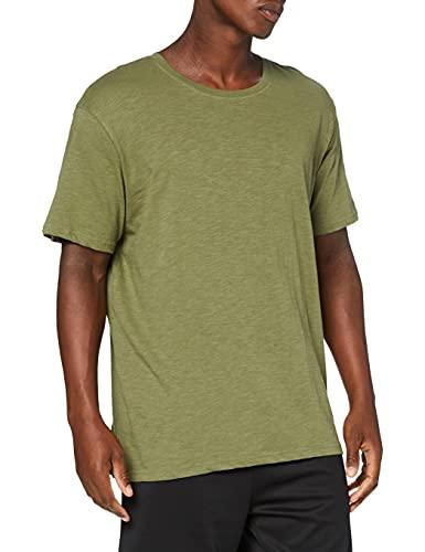 GSA Men's Crew Neck T-Shirt Camiseta, Azul Claro, S para Hombre