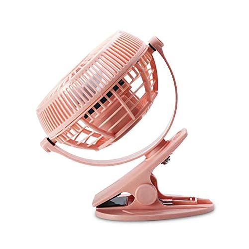 Jjoer Ventilador con Pinza Aspas Ventilador Ventilador De Mesa Silencioso Ventiladores De Mesa Ventilador Habitacion Ventilador Silencioso PequeñO para Oficina Pink