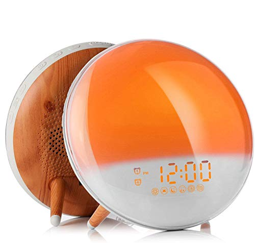 Fitfirst Despertador Luz Wake Up Light...