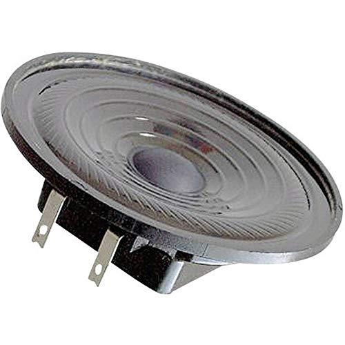 Visaton K 64 WP 2W Schwarz - Lautsprecher (200-15000 Hz, Schwarz, Acrylnitril-Butadien-Styrol (ABS), EN 60068-2-1/EN 50155, Verkabelt, -40-80 °C)