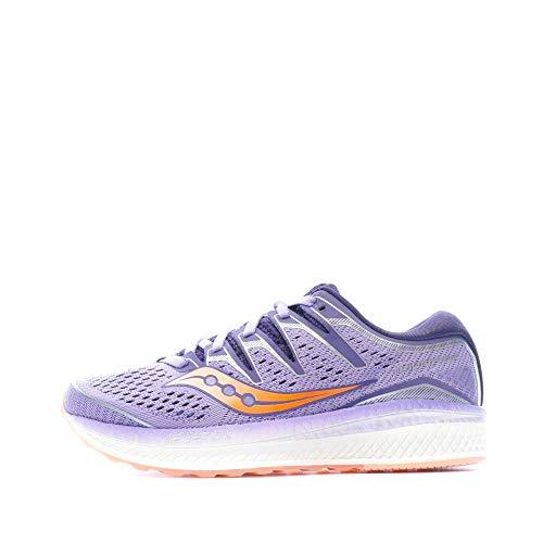 Saucony Triumph ISO 5, Zapatillas de Running Mujer, Verde (Verde 37), 37.5 EU