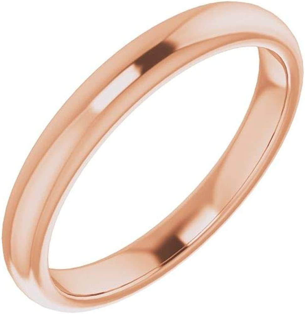 Solid 18K Rose Gold Popular shop is the lowest price challenge Curved Notched Wedding Square for Challenge the lowest price of Japan ☆ R 9mm Band