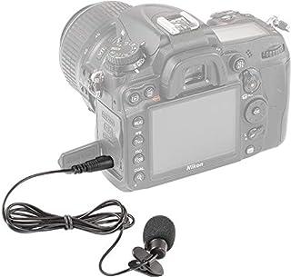 مايك كاميرات كانون ونيكون سلكي Neewer 3.5mm Hands Clip on Mini Lapel Microphone
