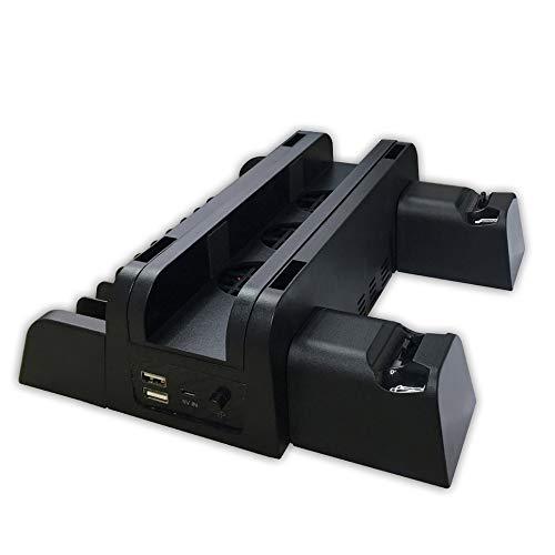 WEFH para Accesorios de PS4 PS4 PS4 Slim PS4 Pro Ventilador de refrigeración de Consola Vertical, Negro