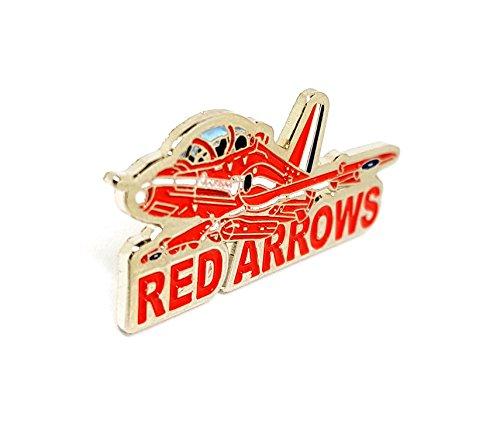 Mainly Metal Métal Émail Broche RAF Red Arrow Avion (Mots)