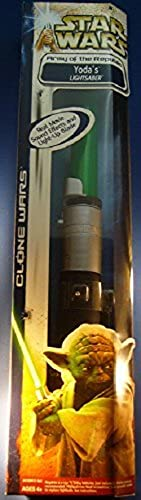 Star Wars Clone Wars Army of the Republic - Yoda's Electronic Lightsaber by Hasbro by Hasbro