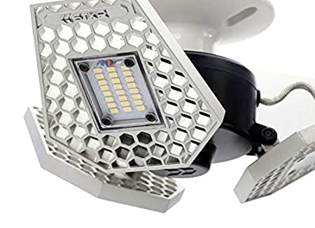 Striker Concepts 00342 3000 Lm Motion-Activated Ceiling Light