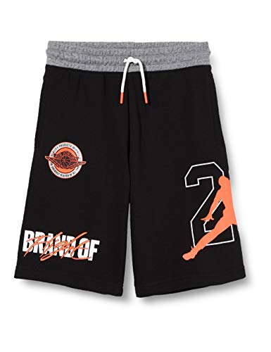 Nike Jdb Jordan Bof Shorts, für Kinder, Schwarz, 10-12Y